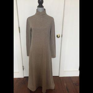 Lauren maxi cashmere dress